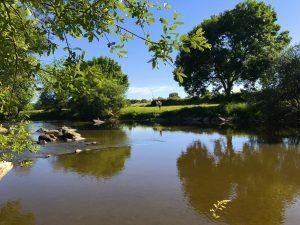 Lieu de baignade à quelques km du Gîte de la Colombière